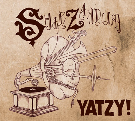 Cover image of Sherzandums first album - Yatzy!